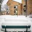 040210, Hökarängen, Snö, Vinter 2010.