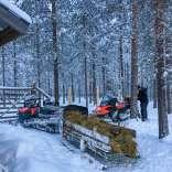 050118, Finland, Savukoski, Martti, Värriöjoki, Photo: Rowan.