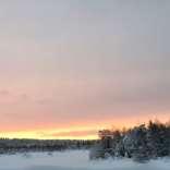 070118, Finland, Savukoski, Martti, Värriöjoki, Photo: Rowan.