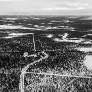080117, Kiruna, Jukkasjärvi, Norrbotten, #EISCAT, Photo: Rostam Zandi.