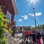 220617, Åland, Rosabussarna, Photo: Rostam Zandi.
